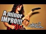Charlie Parra - Melodic Rock A minor improvisation!!!