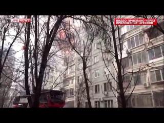 При взрыве в Волгограде обрушились три этажа жилого дома