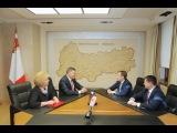 Правительство области намерено наращивать сотрудничество со Сбербанком
