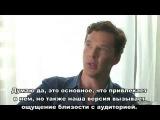 26.07.14. Первый КомикКон. Benedict Cumberbatch LAT Interview (Russian subtitles)