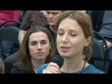 Бхаджан «Джай Амбе» на лекции Андрея Лапина.
