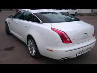 Jaguar XJ белый от ООО