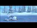 Улётный мультфильм! Лось и снеговик
