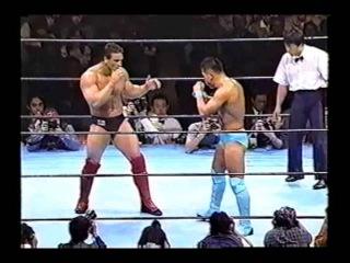 Ken Shamrock vs Kazuo Takahashi