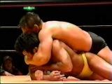 Ken Shamrock vs Manabu Yamada