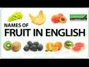 Fruit in English