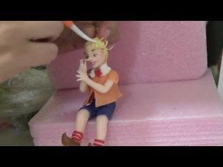 Буратино и Пьеро. Вторая часть фильма о торте Буратино (cake Buratino)