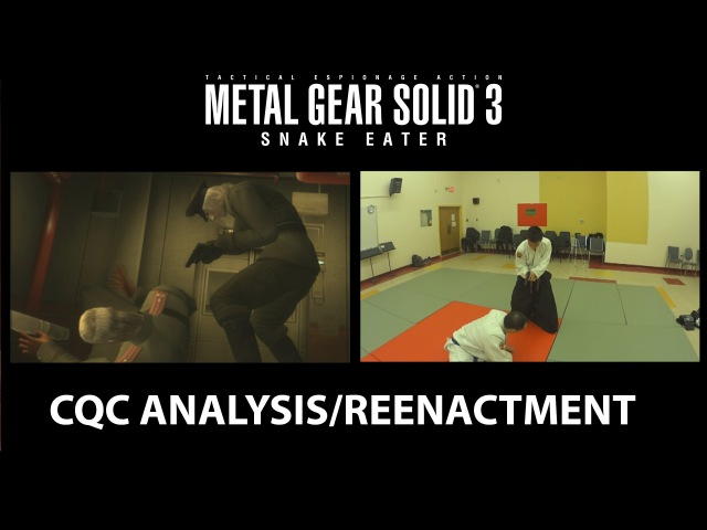 Metal Gear Solid 3: Snake Eater / Kote Gaeshi (CQC on Volgin)