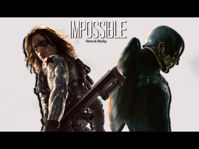 ► Steve/Bucky | Impossible