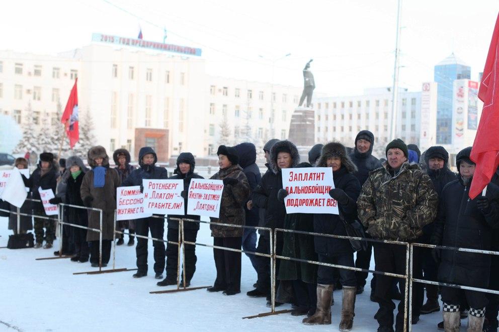 Дальнобойщики Якутии угрожают срывом северного завоза