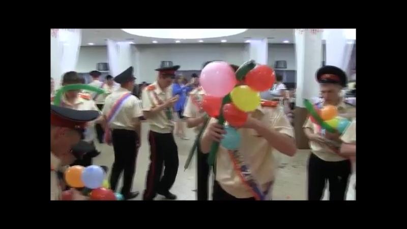 Выпускной 3 роты кадет ОмКВК 2015 год