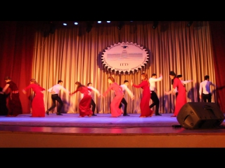 Национальный туркменский танец