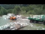 Российские грузовики по бездорожью, Урал, Камаз, Зил-131, настоящие монстры_HD