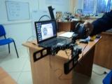 Прототип экзоскелета.