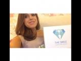 Классное Видео от Обоятельной телеведущей Анюты Троян!)) отбеливание зубов The Smile!