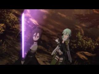 Sword Art Online II 09 - Epic Laser Sword Fight!