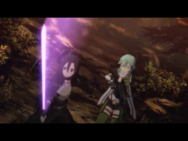 Sword Art Online II 09 - Epic Laser Sword Fight!