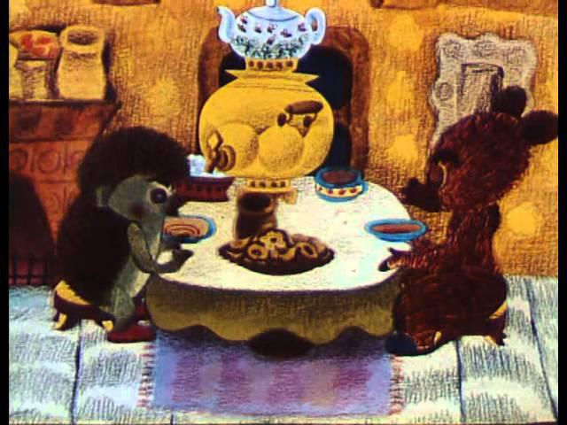 Мультфильм Как ёжик и медвежонок встречали Новый Год