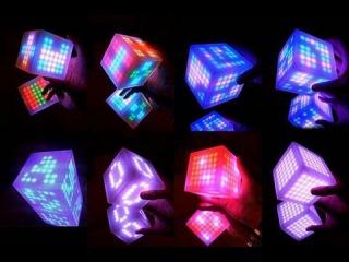 Куб в 12-ти измерениях двухмерным взглядом