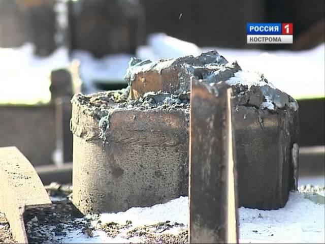 В Костроме неизвестные лица ведут утилизацию старого судна: законно или нет?