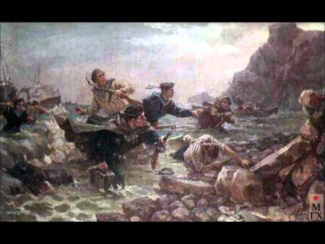 Павел Чекин Бескозырка Pavel Chekin 1942