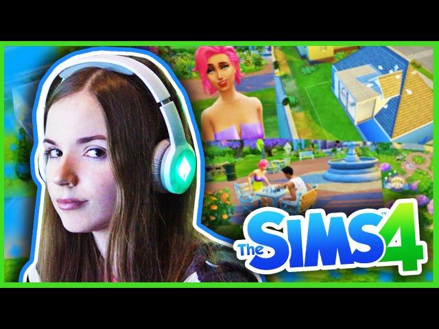 Играем В The Sims 4/Эксклюзивный Gameplay и Влог Из Eа/Детка Геймер38