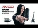 AKADO - Miomi Master Class Namm Musikmesse Moscow English Subtitles