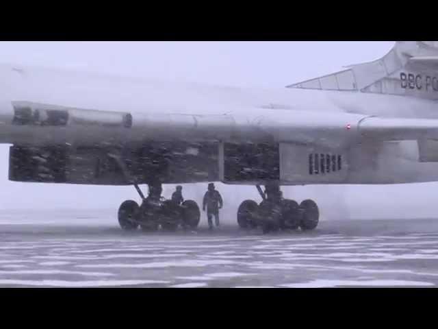 Flying in Arctic on Tu-160 ''The White Swan'' (Blackjack)