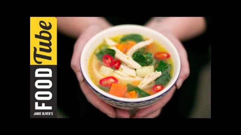 Healthy Chicken Vegetable Soup KerryAnn Dunlop