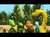 04  Шайни и змеи  Тайни любит цветы - Поезд динозавров (2 сезон)