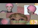 Женская шапочка колоски Сap by a hook pattern spikelets