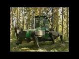 Чудо техники  шагающий Лесоруб, лесной монстр
