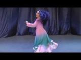 Persian Music - Bandari dance by Ukrainian girl 2015