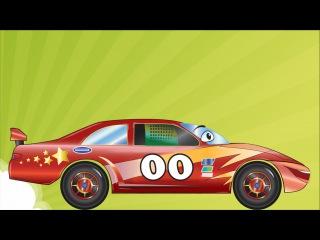 ✔ Akıllı arabalar — Yarış arabası, Ekskavatör, Monster Truck / Çocuklar için çizgi filmleri ✔
