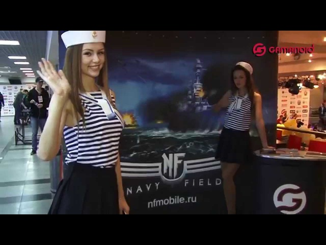 Гранд-финал GCF 2015 в Москве: презентация Navy Field Mobile