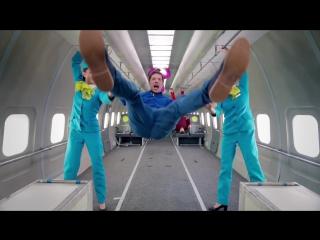 S7 Airlines OK Go,Upside down Inside out - Гравитация Просто Привычка