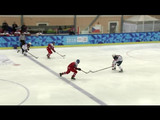 Ice Hockey - -Womens Preliminaries - CZE vs SVK _ -Lillehammer 2016 -Youth Olympic Games-