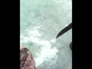 я на рыбалке!!!!первый раз на щуке!!!