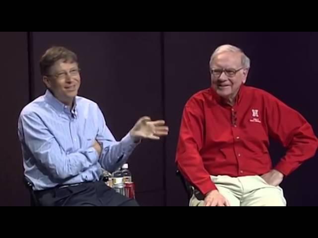 Warren Buffett Bill Gates. Обратно в школу