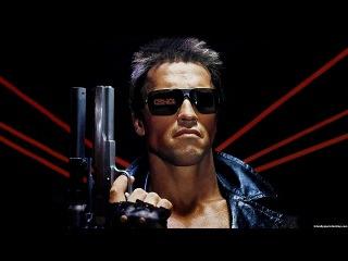 Терминатор (1984) Фильм полный про Восстание машин роботов. Супер боевик - Фантастика!