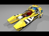 31023-1 Lego Creator Yellow Racers