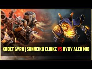 Na`Vi.SoNNeikO Clinkz vs Fnatic.kYXy Alchemist MID /w XBOCT & Artstyle   Ranked DOTA 2 gameplay