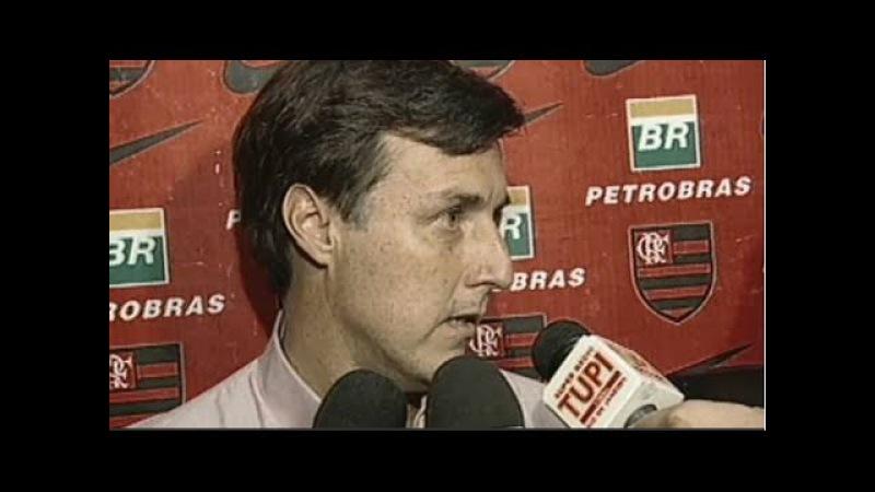Flamengo anunciando o novo técnico!