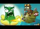 Plants Vs Zombies 2: Sky Castle World Atomic Squash Bomb Mini Game! (PVZ 2 China)