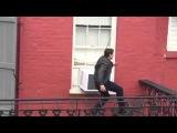 Том Круз на съемках Джек Ричер: Никогда не возвращайся
