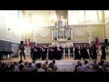 Выступление камерного хора Московской консерватории на фестивале
