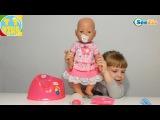 ✔ Беби Борн. Девочка Ника знакомит с куклой / Видео для детей / Baby Born Doll ✔