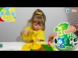 ✔ ФИКСИКИ и Девочка Ника. Видео для детей. Рисунок неньютоновской жидкостью. Fixiki ✔