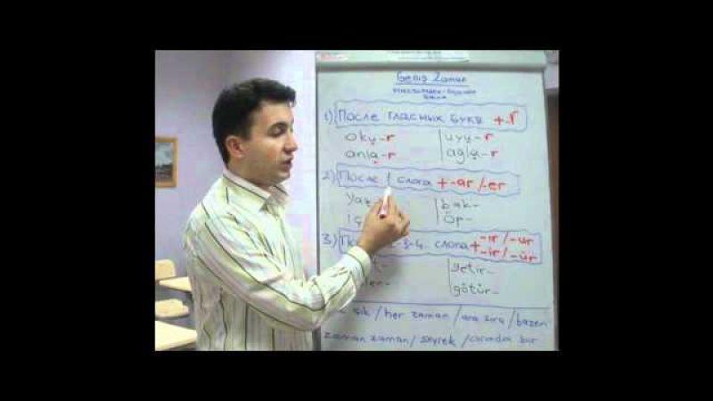 Turkish Lessons Unit 22-1 Geniş Zaman Olumlu