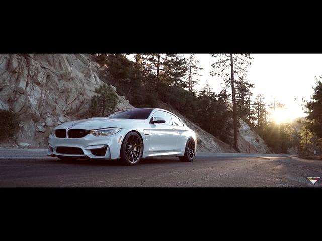 Vorsteiner BMW M4 Rolling Through A Gorgeous Mountain Road (PartsBoutique.ru)